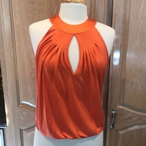 Marciano sexy cut out coral top